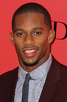 """NEW YORK, NY - NOVEMBER 20: Victor Cruz at the New York Premiere Of Lionsgate's """"The Hunger Games: Catching Fire"""" held at AMC Lincoln Square Theater on November 20, 2013 in New York City. (Photo by Jeffery Duran/Celebrity Monitor)"""