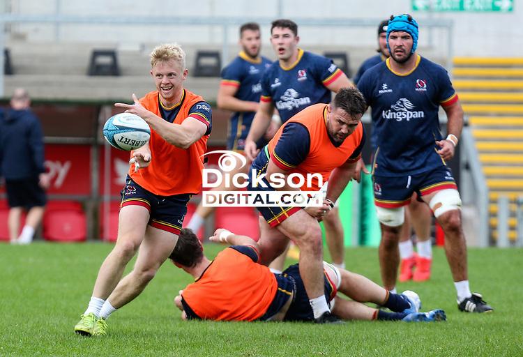 Tuesday 28th September 2021<br /> <br /> David Shanahan during Ulster Rugby training at Kingspan Stadium, Ravenhill Park, Belfast, Northern Ireland. Photo by John Dickson/Dicksondigital