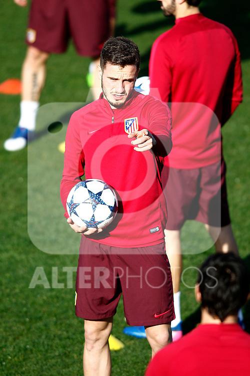 Atletico de Madrid's Saul Niguez during training session. March 14,2017.(ALTERPHOTOS/Acero)