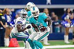 Miami Dolphins wide receiver Jarvis Landry (14) in action during the pre-season game between the Miami Dolphins and the Dallas Cowboys at the AT & T stadium in Arlington, Texas.