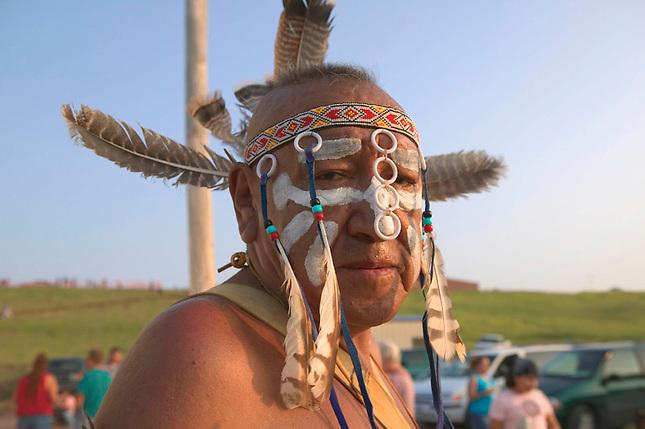 Powwow participant