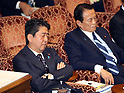 PM Shinzo Abe answers questions in Upper House budget committee session