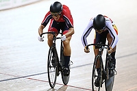 Olivia Podmore finishes first against Natasha Hansen in the Women Elite sprint final during the 2020 Vantage Elite and U19 Track Cycling National Championships at the Avantidrome in Cambridge, New Zealand on Friday, 24 January 2020. ( Mandatory Photo Credit: Dianne Manson )