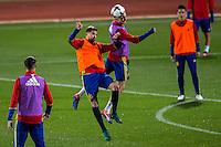 Spainsh during the training of the spanish national football team in the city of football of Las Rozas in Madrid, Spain. November 08, 2016. (ALTERPHOTOS/Rodrigo Jimenez) ///NORTEPHOTO.COM