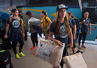 USWNT Travel, August 10, 2016
