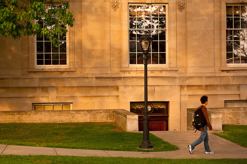 Various Campus Scenics near Kirby Hall of Civil Rights at Lafayette College..4419