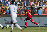 San Pedro Sula, Honduras - Tuesday September 05, 2017: Christian Pulisic during a 2017 FIFA World Cup Qualifying (WCQ) round match between the men's national teams of the United States (USA) and Honduras (HON) at Estadio Olímpico Metropolitano.