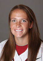 STANFORD, CA - OCTOBER 29:  Melisa Koutz of the Stanford Cardinal softball team poses for a headshot on October 29, 2009 in Stanford, California.