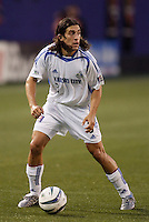 The Wizard's Nick Garcia. The Kansas City Wizards were defeated by  the NY/NJ MetroStars to a 1 to 0 at Giant's Stadium, East Rutherford, NJ, on May 30, 2004.