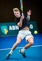 Alphen aan den Rijn, The Netherlands, 25 Januari 2019, ABNAMRO World Tennis Tournament, Supermatch, Jesper de Jong (NED)<br /> <br /> Photo: www.tennisimages.com/Henk Koster
