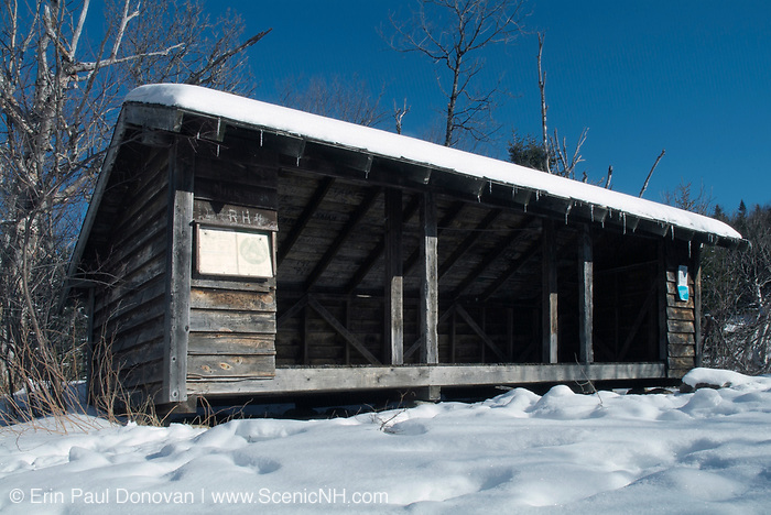 Rocky Branch Shelter #2 was an Adirondack-style shelter located along the Rocky Branch Trail in the Dry River Wilderness of the New Hampshire White Mountains. This shelter has been dismantled and no longer exists.