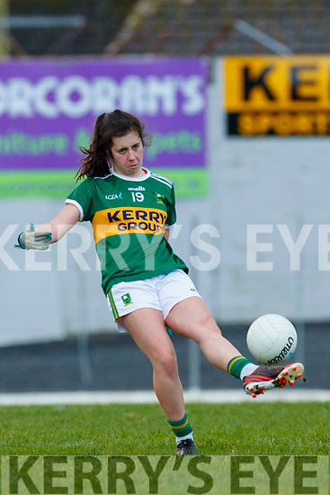 Fiadhna Tangney, Kerry during the Lidl Ladies National Football League Division 2 Round 4 match between Kerry and Tyrone at Fitzgerald Stadium on Sunday.