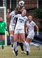 Washington,D.C. - Saturday, November 24, 2018: Georgetown University defeated Baylor 3-0 in a NCAA tournament quarter-final match at Shaw Field.