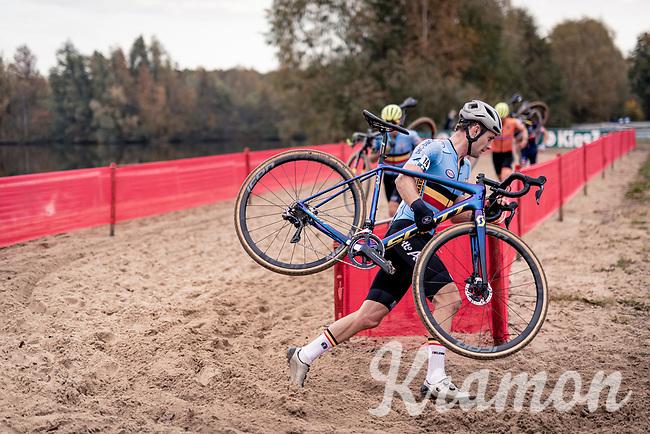 Daan Soete (BEL/Hens-Maes)<br /> <br /> UEC Cyclocross European Championships 2020 - 's-Hertogenbosch (NED)<br /> <br /> Elite MEN<br /> <br /> ©kramon