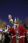 Israel, Lower Galilee, Christmas celebration in Nazareth