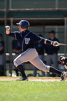 February 26, 2010:  Matt Fleishman of the Villanova Wildcats during the Big East/Big 10 Challenge at Raymond Naimoli Complex in St. Petersburg, FL.  Photo By Mike Janes/Four Seam Images