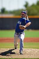 Texas Rangers pitcher Reid Anderson (30) during an Instructional League game against the Cincinnati Reds on October 4, 2016 at the Surprise Stadium Complex in Surprise, Arizona.  (Mike Janes/Four Seam Images)
