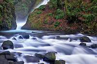 Bridal Veil Falls. Columbia River Gorge National Scenic Area, Oregon