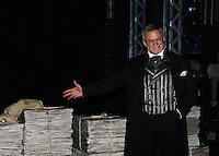 10-09-12 Ron Raines stars in Broadway's Newsies at Nederlander Theatre, NYC