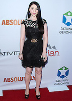 SANTA MONICA, CA, USA - JUNE 11: Michelle Trachtenberg at the Pathway To The Cures For Breast Cancer: A Fundraiser Benefiting Susan G. Komen held at the Barker Hangar on June 11, 2014 in Santa Monica, California, United States. (Photo by Xavier Collin/Celebrity Monitor)