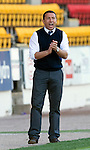 St Johnstone v St Mirren...11.09.10  .Derek McInnes applauds his players.Picture by Graeme Hart..Copyright Perthshire Picture Agency.Tel: 01738 623350  Mobile: 07990 594431