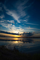 Sunset of the marshes , Merritt Island, FL, March 2020.(Photo by Brian Cleary/bcpix.com)