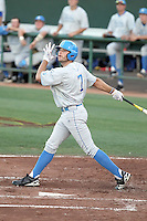 Cody Keefer #7 of the UCLA Bruins plays against the Arizona State Sun Devils on May 28, 2011 at Packard Stadium, Arizona State University, in Tempe, Arizona. .Photo by:  Bill Mitchell/Four Seam Images.