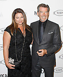 Keeley & Pierce Brosnan at the Diego Della Valle Cocktail Celebration Honoring Tod's Beverly Hills Boutique And MOCA's New Director Jerry Deitch at Tod's Boutique in Beverly Hills, California on April 15,2010                                                                   Copyright 2010  DVS / RockinExposures