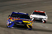 Monster Energy NASCAR Cup Series<br /> Federated Auto Parts 400<br /> Richmond Raceway, Richmond, VA USA<br /> Saturday 9 September 2017<br /> Kyle Busch, Joe Gibbs Racing, M&M's Caramel Toyota Camry and Matt Kenseth, Joe Gibbs Racing, Hurricane Harvey Relief Toyota Camry<br /> World Copyright: Russell LaBounty<br /> LAT Images