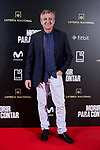Ramon Aranguena attends to 'Morir para contar' film premiere during the Madrid Premiere Week at Callao City Lights cinema in Madrid, Spain. November 13, 2018. (ALTERPHOTOS/A. Perez Meca)