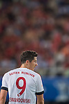 Robert Lewandowski of Bayern Munich looks on during the Bayern Munich vs Guangzhou Evergrande as part of the Bayern Munich Asian Tour 2015  at the Tianhe Sport Centre on 23 July 2015 in Guangzhou, China. Photo by Aitor Alcalde / Power Sport Images