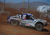 Apr 16, 2011; Surprise, AZ USA; LOORRS driver Travis Coyne (5) during round 3 at Speedworld Off Road Park. Mandatory Credit: Mark J. Rebilas-.