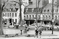 1980 FILE PHOTO - ARCHIVES -<br /> <br /> The European flavor: Wandering the streets of Quebec city is like strolling through old Paris; the writer found when she visited the only walled city in the U.S. or Canada. Young lovers; pavement artists; fine food and the weathered gables of old buildings all added atmosphere and offered escape from the North American lifestyle. Though the trip back; in her case; was neither quick nor easy.<br /> 1980<br /> <br /> PHOTO : Boris Spremo - Toronto Star Archives - AQP