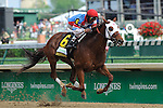 Groupie Doll ridden by Raviv Maragh and trained by William Bradley win the G1 Humana Distaff at Churchill Downs in Louisville, Kentucky Saturday, May 5, 2012
