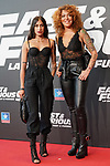 Andrea Navarro Brea and Sofia Cristo during the photocall for the 'Fast & Furious 9' Madrid Premiere. June 17, 2021. (ALTERPHOTOS/Acero)