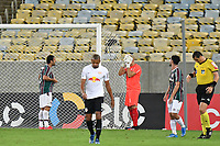 2nd June 2021; Maracana Stadium, Rio de Janeiro, Brazil; Copa do Brazil, Fluminense versus Red Bull Bragantino; Players of Fluminense celebrate their goal scored by Fred in the 61st minute 1-0