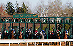 April 03, 2021:  Start of the Blue Grass.<br /> #4 Essential Quality and jockey Luis Saez win the 97th running of the Toyota Blue Grass Grade2 $800,000 for owner Godolphin and trainer Brad Cox at Keeneland Racecourse in Lexington, KY on April 03, 2021.  Candice Chavez/ESW/CSM