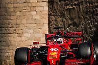 6th June 2021; F1 Grand Prix of Azerbaijan, Race Day;  16 LECLERC Charles mco, Scuderia Ferrari SF21 during the Formula 1 Azerbaijan Grand Prix 2021 at the Baku City Circuit