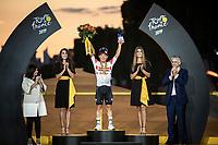 Caleb Ewan (AUS/Lotto Soudal) wins his 3th stage of this Tour on the final stage into Paris on the Champ-Elyséés<br /> <br /> Stage 21: Rambouillet to Paris (128km)<br /> 106th Tour de France 2019 (2.UWT)<br /> <br /> ©kramon