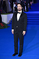 "Lin-Manuel Miranda<br /> arriving for the ""Mary Poppins Returns"" premiere at the Royal Albert Hall, London<br /> <br /> ©Ash Knotek  D3467  12/12/2018"