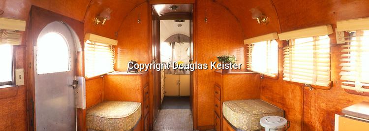 Interior 1937 Airstream (Old Grand Dad)