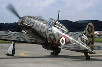 """- Italian Air Force, fighter aircraft of the second World War Macchi 205 """"Veltro"""" restored....- Aeronautica Militare Italiana, aereo da caccia della seconda Guerra Mondiale Macchi 205 """"Veltro"""" restaurato...."""