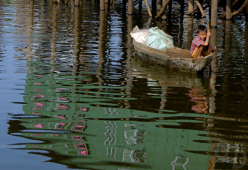 The Images from the Book Journey through Color and Time, 2006, Cambodia,Tonle Sap lake