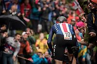 Tejay van Garderen (USA/BMC) up Mount Fløyen<br /> <br /> Men Elite Individual Time Trial<br /> <br /> UCI 2017 Road World Championships - Bergen/Norway