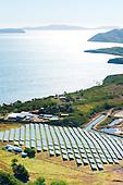 Païta, ferme solaire Hélios Bay