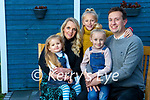 Cllr. Mikey Sheehy with his wife Suzanne and Children Caragh (4) Ailbhe (6) Róisín (9)