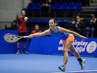 Rotterdam, Netherlands, December 18, 2016, Topsportcentrum, Lotto NK Tennis,  Bibiane Schoofs (NED) <br /> Photo: Tennisimages/Henk Koster