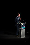 © Joel Goodman - 07973 332324. 06/12/2017 . Manchester , UK . PRINCE WILLIAM delivers a speech about his work to counter bullying and abuse . The Duke And Duchess Of Cambridge, Prince William and Kate Middleton, attend the Children's Global Media Summit at the Manchester Central Convention Centre . Photo credit : Joel Goodman