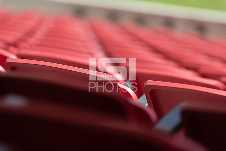 SANDY, UT - JUNE 8: USA during a training session at Rio Tinto Stadium on June 8, 2021 in Sandy, Utah.