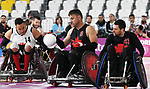 Mike Whitehead and Eric Rodriques, Lima 2019 - Wheelchair Rugby // Rugby en fauteuil roulant.<br />